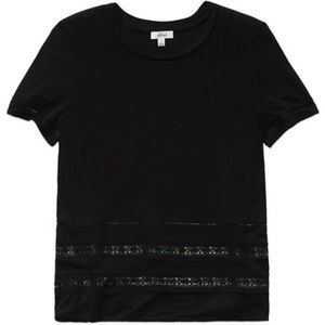 Wilfred Reve T Shirt in Black